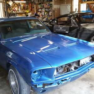 1967 GTA Mustang Fastback 289